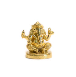 Statue mini Ganesha filigran Messing